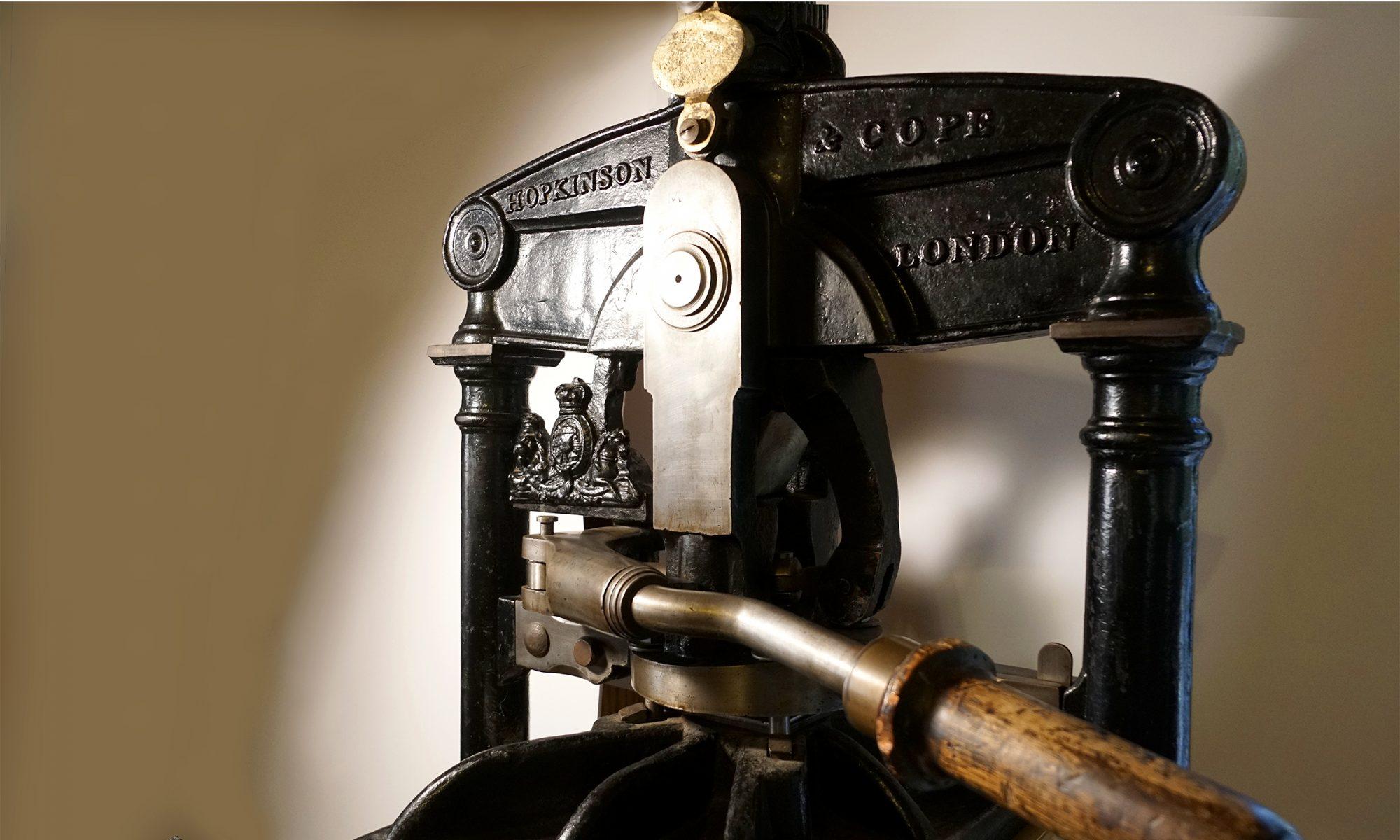 new albion press